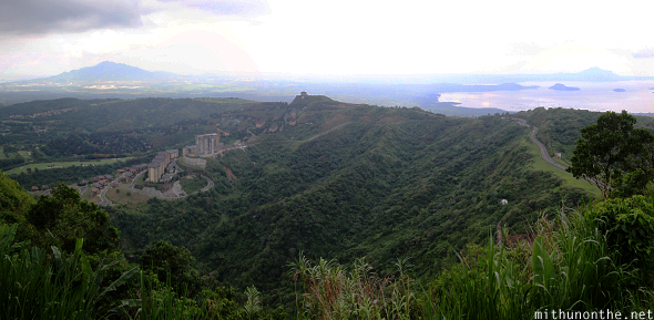 Tagaytay hill view panorama