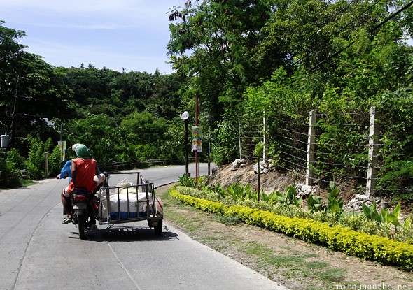 Tricycle road Boracay Philippines