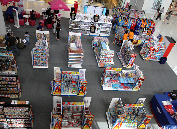 Ultraman toys Bang Na mall