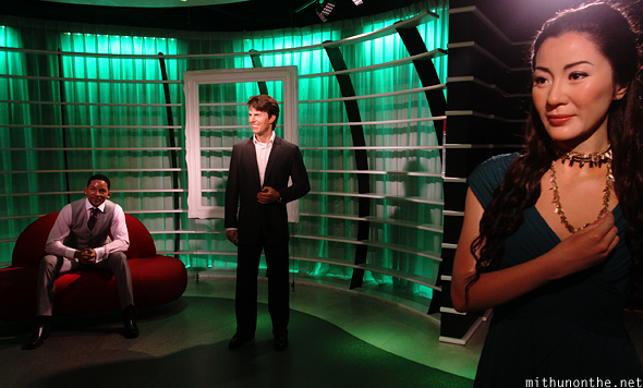 Will Smith Tom Cruise Michelle Yeoh Madame Tussauds Bangkok
