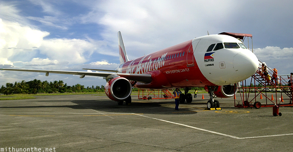 AirAsia flight Kalibo airport