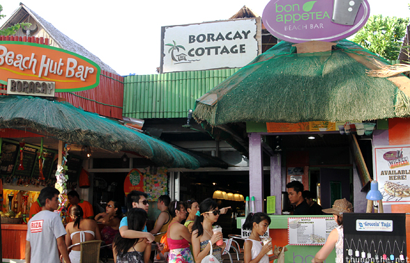 Boracay Cottage Beach Hut bar
