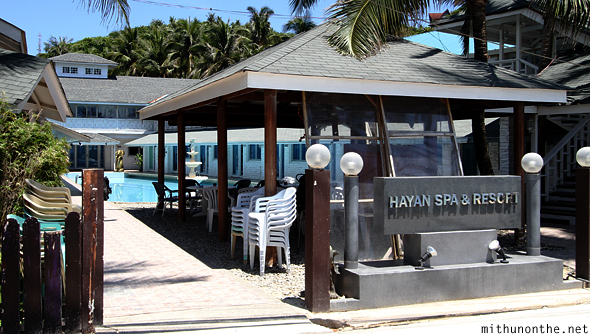 Hayan spa resort Bulabog Boracay