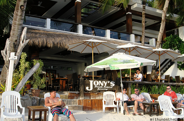 Jony's beach resort Boracay