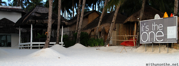 One White beach residence Boracay