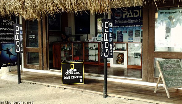 PADI dive center GoPro Boracay