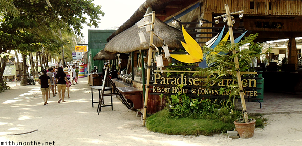 Paradise Garden resort convention center Boracay