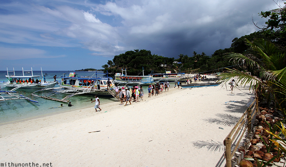 Private beach Boracay Philippines