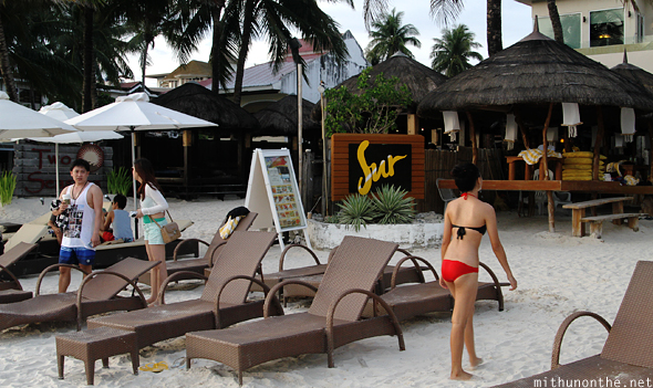 Two Seasons Sur resort Boracay White beach