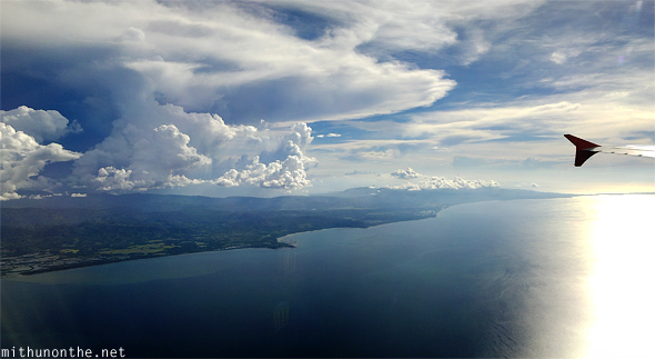 view-from-flight-philippines-island