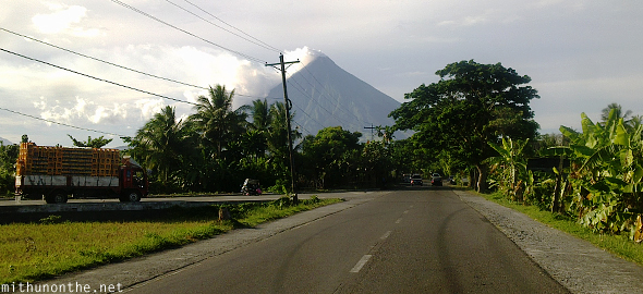 Bicol highway Mount Mayon