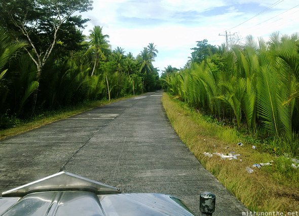 Concrete village roads Philippines