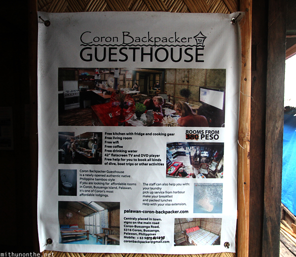 Coron Backpackers Guesthouse details