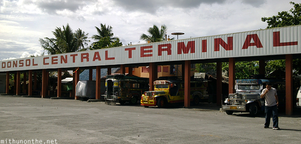 Donsol central terminal Philippines