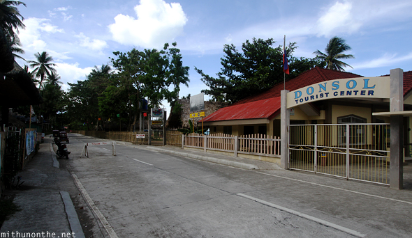Donsol tourist center Philippines