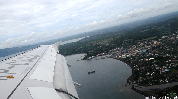 Flight take off Legazpi