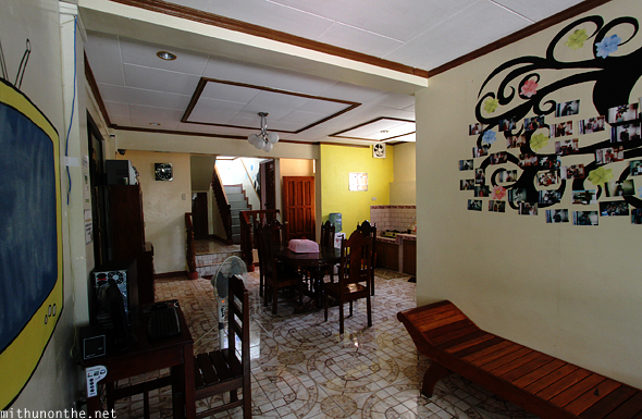 Mayon Backpackers hostel interiors