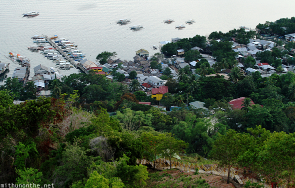 Coron from Tapyas hill