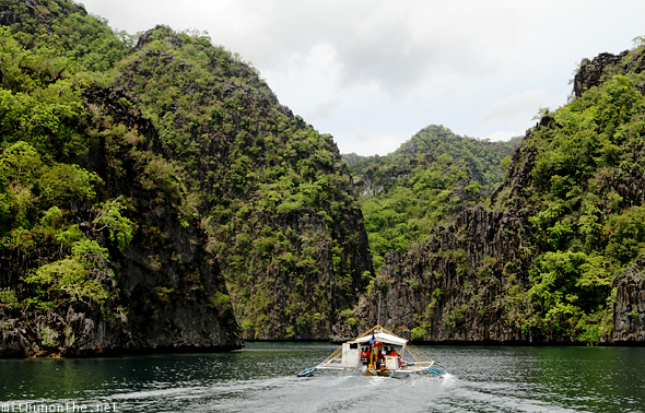 Coron islands Palawan Philippines