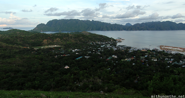 Coron islands view from Tapyas hill