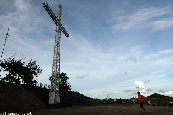 Cross atop Mt. Tapyas Coron Philippines