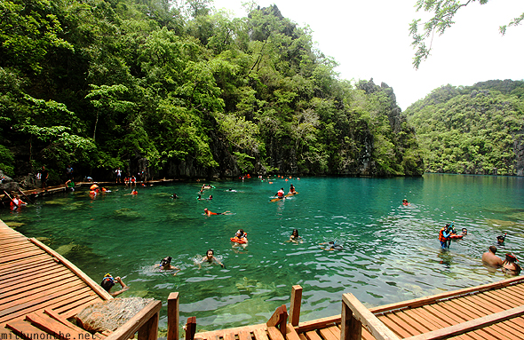 Kayangan lake Coron Philippines