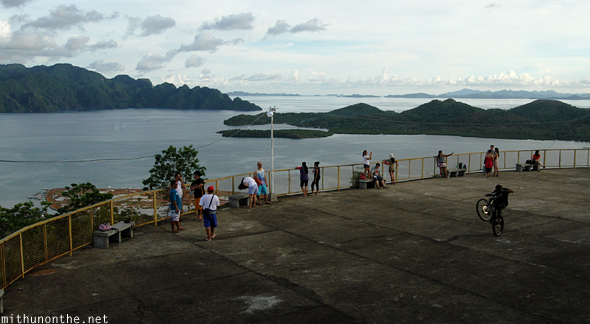 Mt. Tapyas view point Coron Philippines