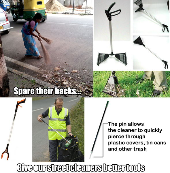 Trash picker models