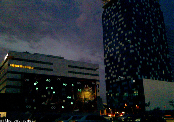 BGC buildings Manila night