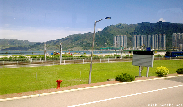 Hong Kong Lantau near airport