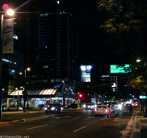 Manila Bonafacio at night