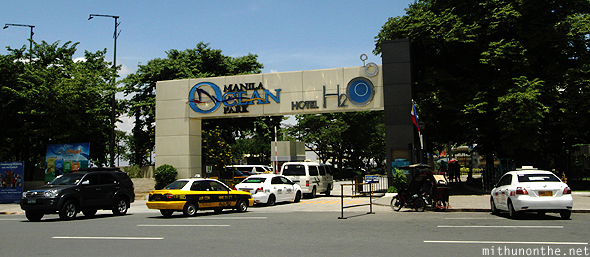 Ocean park Manila entrance Philippines