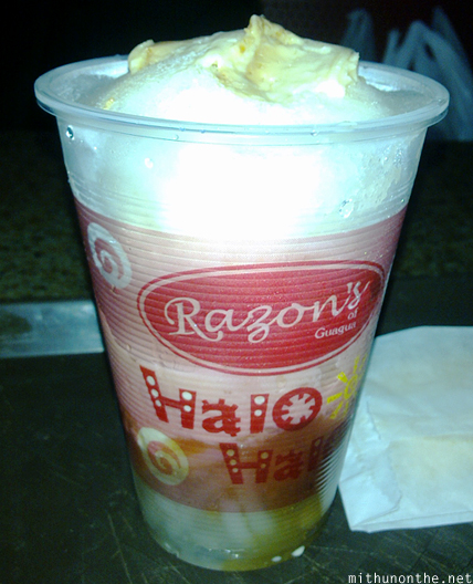 Razon's Halo Halo Filipino dessert