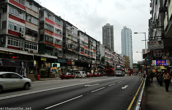 Tai Po road Hong Kong