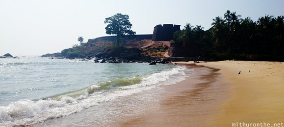 Bekal fort from beach