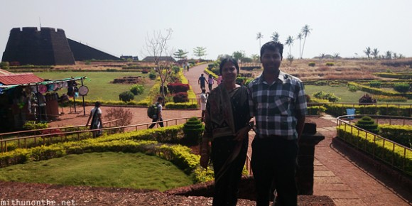 Bekal fort Mithun mother