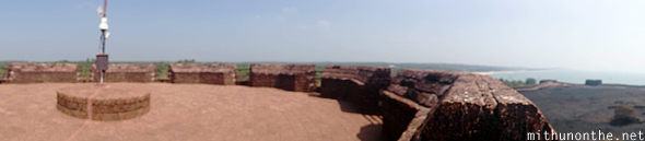 Bekal fort observation tower panorama