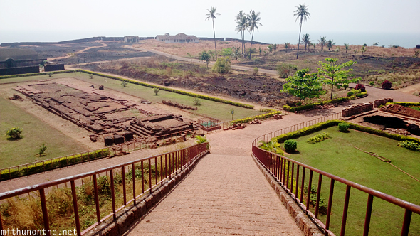 Bekal fort observation tower view