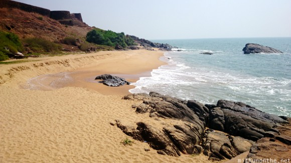 Bekal fort small beach