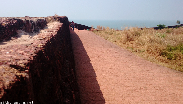 Bekal fort stone bricks