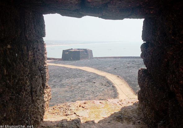 Bekal fort stone view