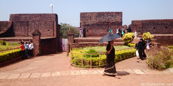 Bekal fort tourists