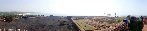 Bekal fort view observation tower panorama