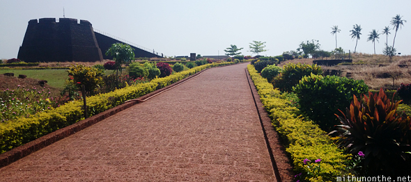 Bekal fort walk way Kasragod
