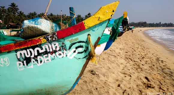 Blademon boat name Kerala