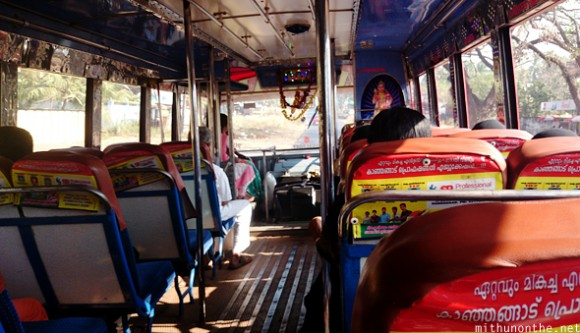 Inside Kerala bus