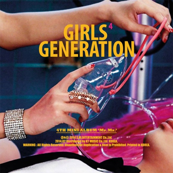 SNSD Girls Generation Mr.Mr album cover