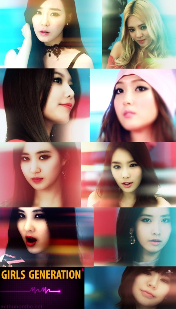 SNSD Mr. Mr. MV screencap Girls Generation members