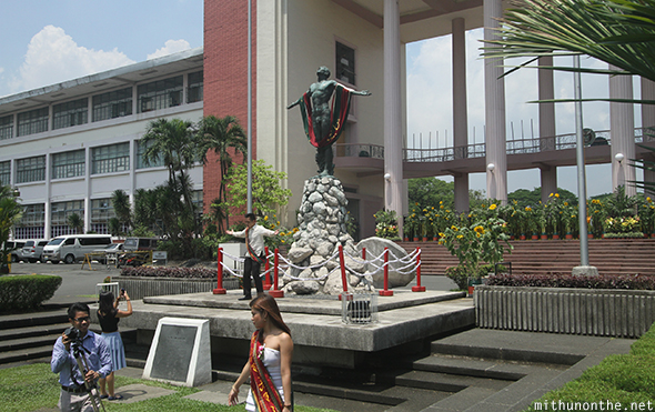 Oblation statue UP Diliman