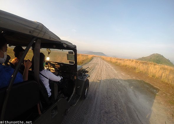 4x4 jeep Mt. Pinatubo tour